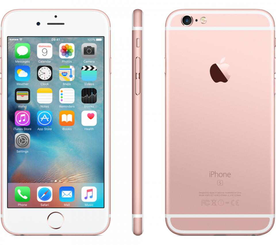 refurbished iphone 6s 16gb rose gold nieuwstaat irepairshop. Black Bedroom Furniture Sets. Home Design Ideas